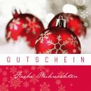 Großhandel Glückwunschkarten: Gutschein Merci, 12x12cm, Weihnachten ...